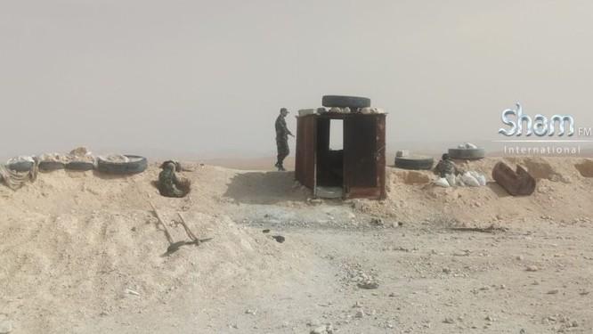 Quân Syria tấn công mở rộng kiểm soát sát căn cứ Mỹ trên sa mạc Damascus ảnh 5