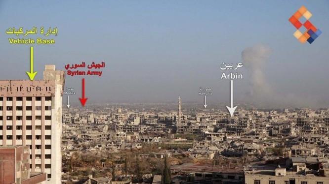 """""""Hổ Syria"""" tả xung hữu đột ở tử địa Đông Ghouta, hàng nghìn người dân muốn ra vùng giải phóng ảnh 1"""