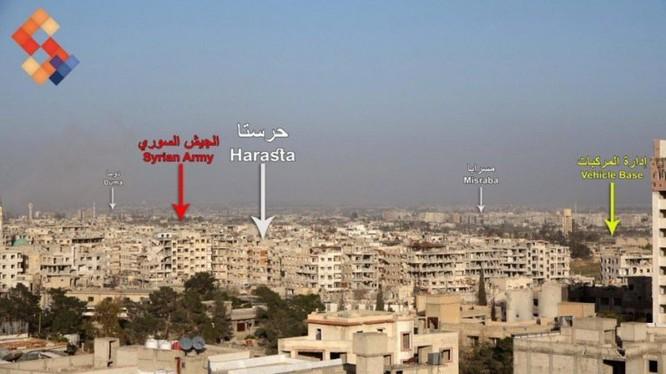 """""""Hổ Syria"""" tả xung hữu đột ở tử địa Đông Ghouta, hàng nghìn người dân muốn ra vùng giải phóng ảnh 2"""