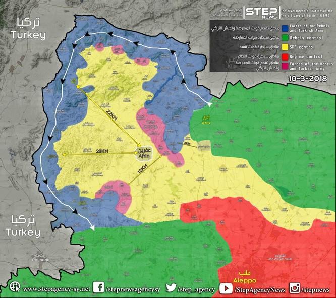 Quân Thổ đoạt hàng loạt cứ địa, người Kurd Syria lâm nguy ảnh 1