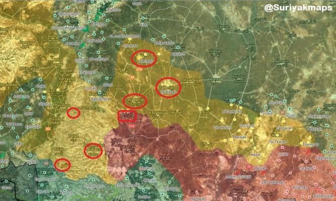 Quân Thổ vây khốn Afrin, thúc Mỹ ép người Kurd giao nộp nốt Manbij ảnh 1