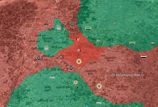 Quân tinh nhuệ Syria dốc sức tấn công sào huyệt Đông Ghouta, Mỹ đe dọa không kích ảnh 1