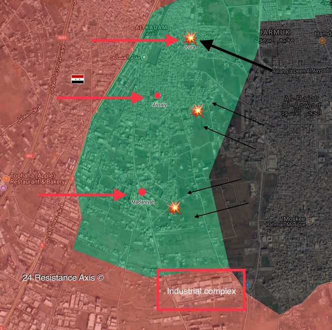 IS bất ngờ tấn công, 5 binh sĩ Syria thiệt mạng ven Damascus ảnh 1