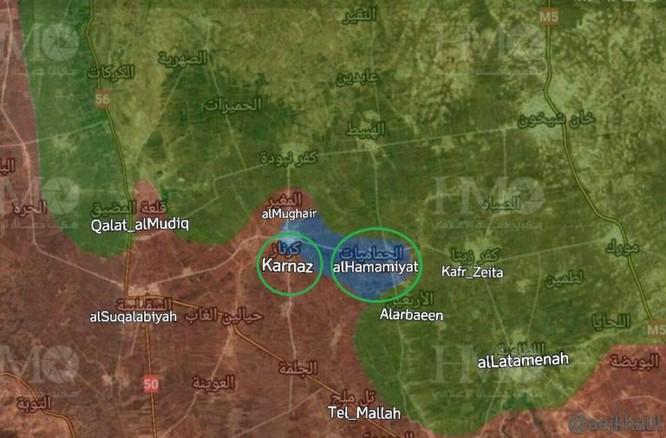 Phe thánh chiến bất ngờ tấn công, quân đội Syria mất 2 thị trấn ở Hama ảnh 1