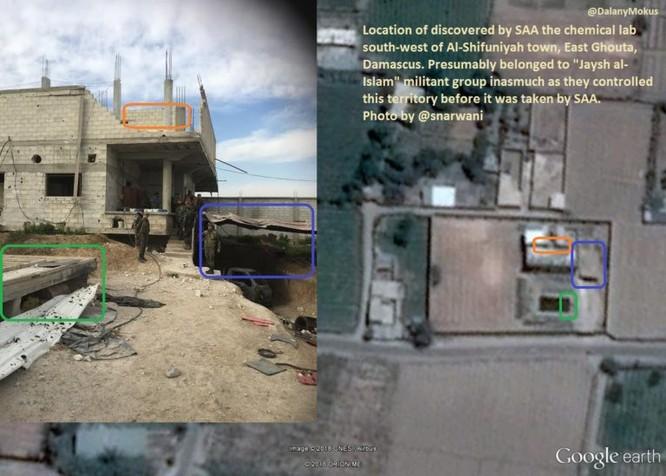 Chảo lửa Đông Ghouta: Quân thánh chiến Syria có cả nhà máy chế tạo tên lửa, sản xuất hóa phẩm ảnh 1