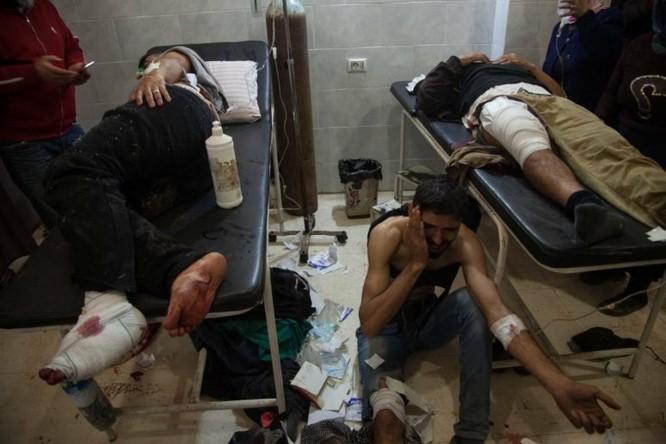 Pháo binh, không quân Thổ Nhĩ Kỳ tập kích Afrin, hàng chục người dân Kurd thiệt mạng ảnh 4