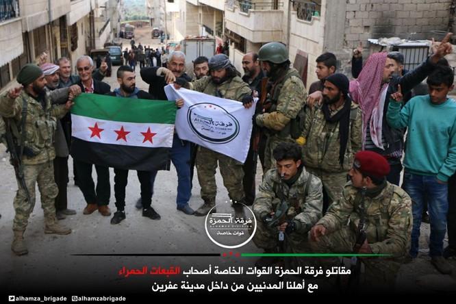Người Kurd Syria đầu hàng, giao nộp thành phố Afrin cho Thổ Nhĩ Kỳ ảnh 10