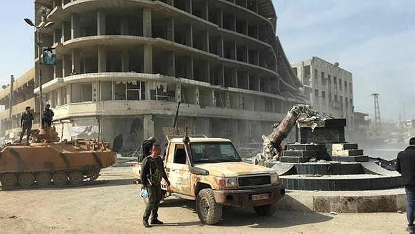 Người Kurd Syria đầu hàng, giao nộp thành phố Afrin cho Thổ Nhĩ Kỳ ảnh 17