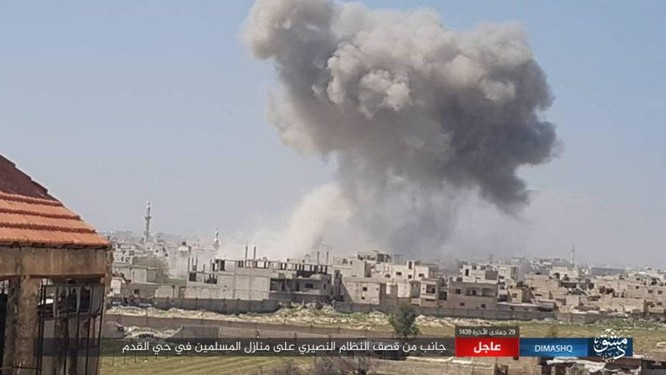 IS nhất loạt tấn công ở Deir Ezzor, Damascus, hàng loạt binh sĩ Syria thiệt mạng ảnh 1