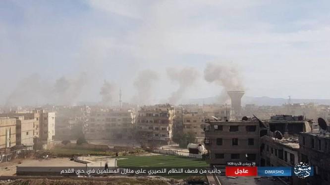 IS nhất loạt tấn công ở Deir Ezzor, Damascus, hàng loạt binh sĩ Syria thiệt mạng ảnh 2