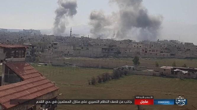 IS nhất loạt tấn công ở Deir Ezzor, Damascus, hàng loạt binh sĩ Syria thiệt mạng ảnh 3