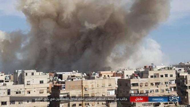 IS nhất loạt tấn công ở Deir Ezzor, Damascus, hàng loạt binh sĩ Syria thiệt mạng ảnh 4