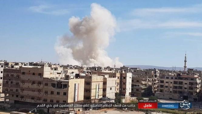 IS nhất loạt tấn công ở Deir Ezzor, Damascus, hàng loạt binh sĩ Syria thiệt mạng ảnh 5