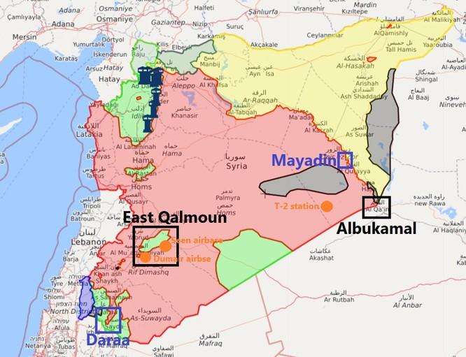 """Mỹ lăm le tấn công Syria để cứu """"nổi dậy"""" ở Đông Ghouta, đoạt mỏ dầu ở Deir Ezzor ảnh 1"""