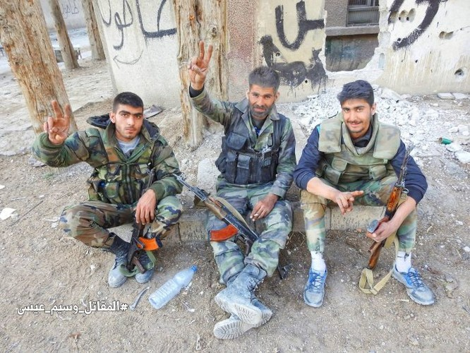 Quân đội Syria đè bẹp thánh chiến tử thủ cứ địa Kafr Batna, 80% Đông Ghouta được giải phóng ảnh 11