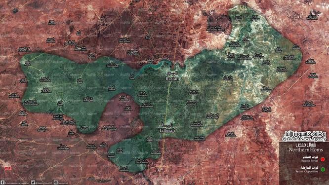 Các nhóm chiến binh nổi dậy Syria tại Homs đầu hàng chính quyền Syria ảnh 1