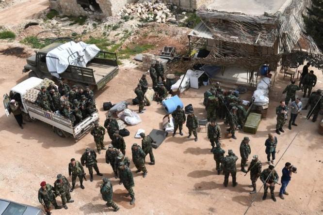Nga yểm trợ quân đội Syria tiến vào thị trấn chiến lược Afrin sau đàm phán với Thổ thất bại ảnh 4