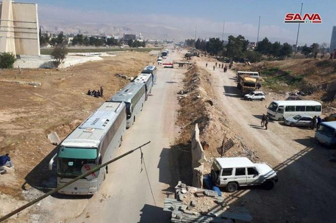 Chiến sự Syria: Quân Assad đè bẹp thánh chiến, giải phóng hoàn toàn 4 quận sào huyệt ở Đông Ghouta ảnh 1