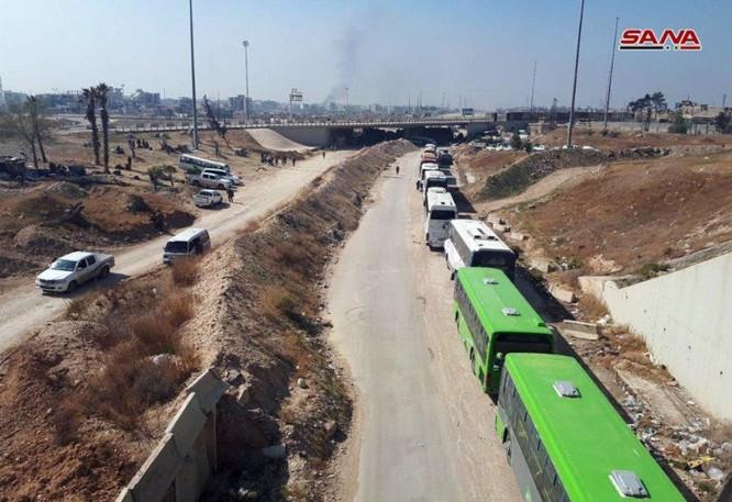 Chiến sự Syria: Quân Assad đè bẹp thánh chiến, giải phóng hoàn toàn 4 quận sào huyệt ở Đông Ghouta ảnh 2