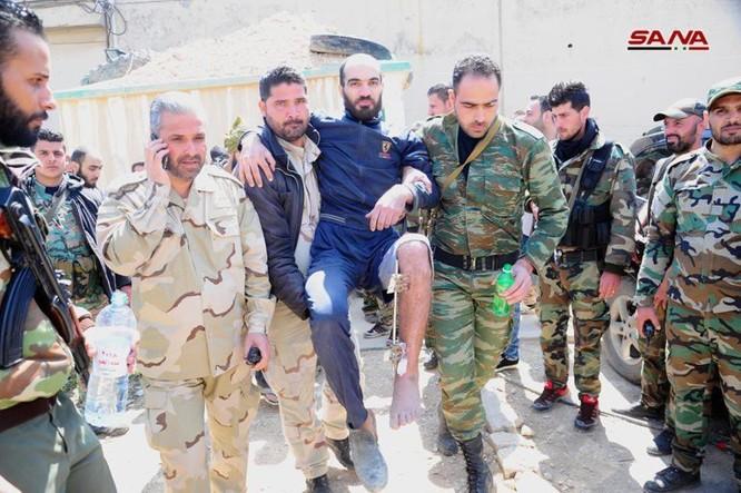 Chiến sự Syria: Quân Assad đè bẹp thánh chiến, giải phóng hoàn toàn 4 quận sào huyệt ở Đông Ghouta ảnh 3