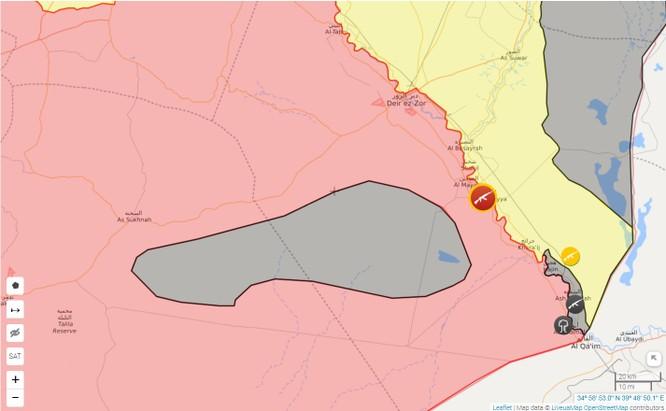 Nga càn quét yểm hộ, quân đội Syria đánh chiếm 600 km2 trên sa mạc Deir Ezzor ảnh 2