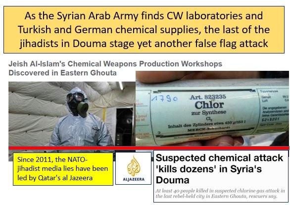 Phe thánh chiến cáo buộc quân đội Syria tấn công vũ khí hóa học ở Douma ảnh 1