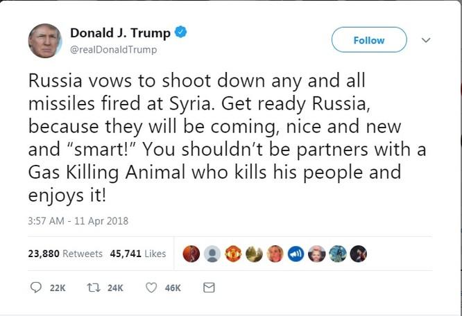 Nga giáng trả ngay lập tức nếu bị Mỹ tấn công tại Syria ảnh 1