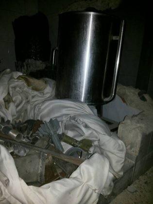Quân đội Syria chiếm giữ xưởng vũ khí khủng của phe thánh chiến tại tử địa Đông Ghouta ảnh 4