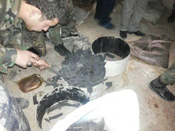 Quân đội Syria chiếm giữ xưởng vũ khí khủng của phe thánh chiến tại tử địa Đông Ghouta ảnh 9