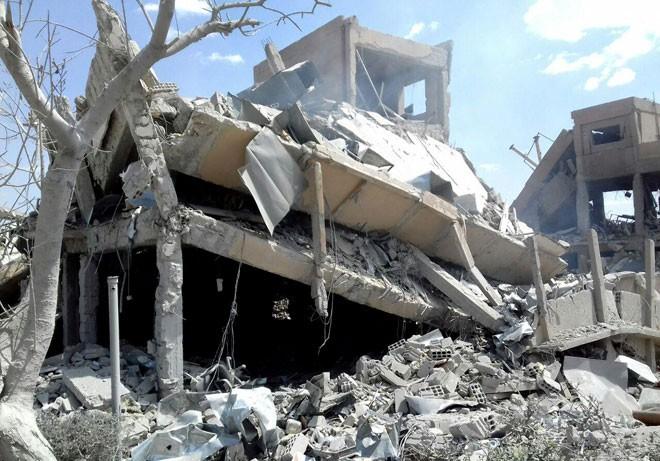 """Syria bắn hạ 71 tên lửa Mỹ-Anh-Pháp: Nga phóng đại hay """"màn dạo đầu"""" của Washington? ảnh 6"""