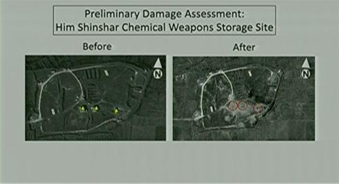 """Syria bắn hạ 71 tên lửa Mỹ-Anh-Pháp: Nga phóng đại hay """"màn dạo đầu"""" của Washington? ảnh 2"""