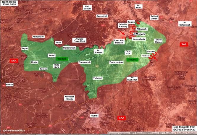 Quân đội Syria đè bẹp Al-Qaeda, chiếm liên tiếp 3 cứ địa ở Homs ảnh 1