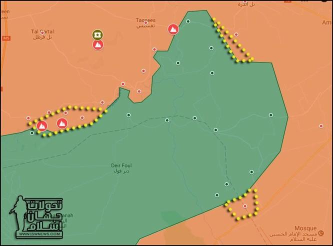 Quân đội Syria chiếm liền 6 cứ địa thánh chiến trên chiến trường Hama ảnh 1