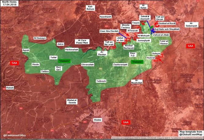 Nga-Syria thắng chẻ tre, quân thánh chiến cố thủ Rastan muốn hàng ảnh 1
