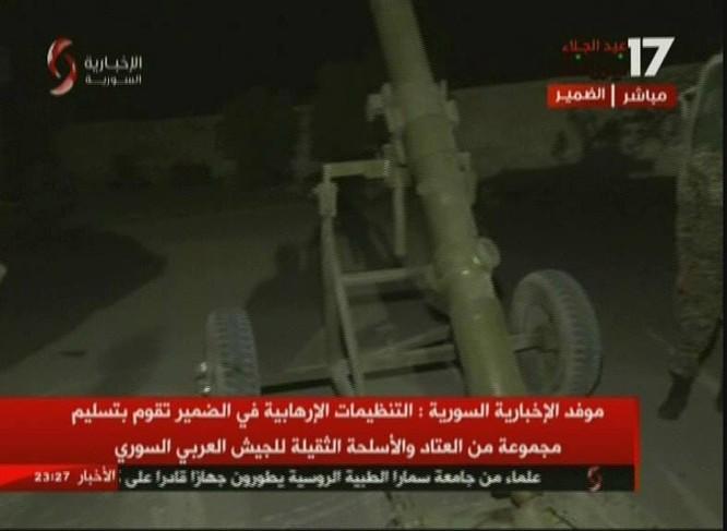 Chiến binh Hồi giáo lũ lượt xin hàng, giao nộp vũ khí cho quân đội Syria ảnh 6