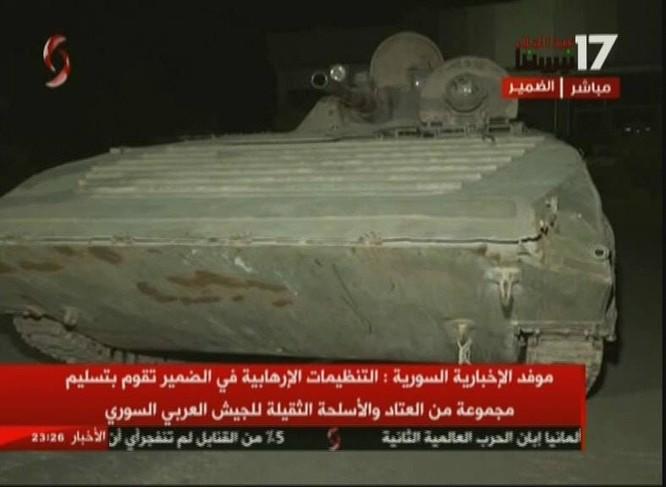 Chiến binh Hồi giáo lũ lượt xin hàng, giao nộp vũ khí cho quân đội Syria ảnh 7