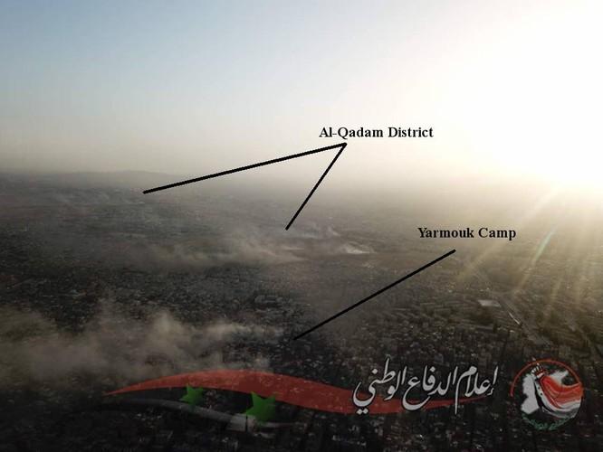 Pháo binh Syria dội lửa, IS cố thủ ngoại vi Damascus đầu hàng ảnh 1