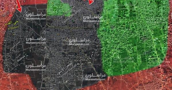 Pháo binh Syria dội lửa, IS cố thủ ngoại vi Damascus đầu hàng ảnh 2