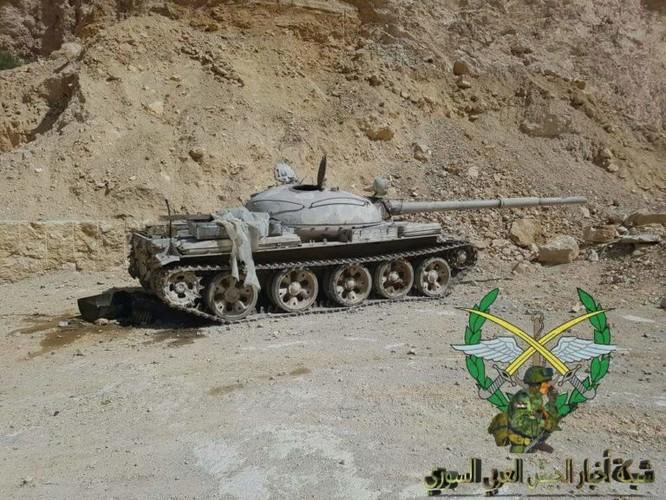 Bức hàng phe thánh chiến, quân đội Syria chiếm 37 xe tăng và 15 tên lửa đạn đạo ảnh 1