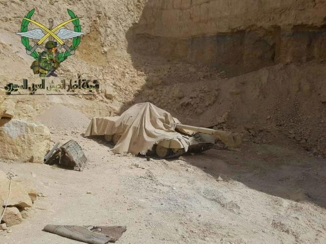 Bức hàng phe thánh chiến, quân đội Syria chiếm 37 xe tăng và 15 tên lửa đạn đạo ảnh 3
