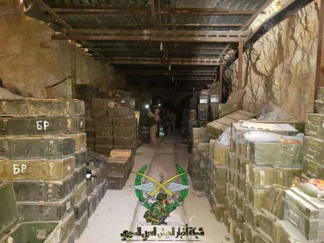 Bức hàng phe thánh chiến, quân đội Syria chiếm 37 xe tăng và 15 tên lửa đạn đạo ảnh 8