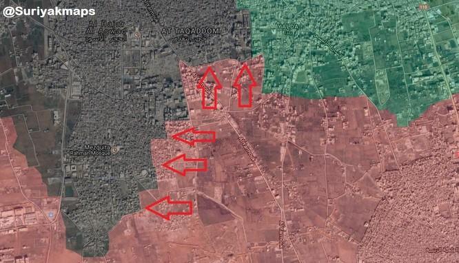 Quân đội Syria bị IS cầm chân tại chảo lửa ven Damascus ảnh 1