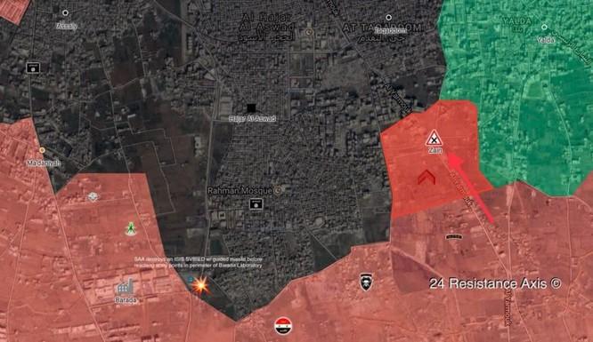 Quân đội Syria giáng đòn chí mạng vào IS tử thủ ven Damascus ảnh 1