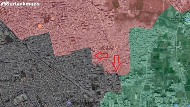 Quân đội Syria giáng đòn chí mạng vào IS tử thủ ven Damascus ảnh 2