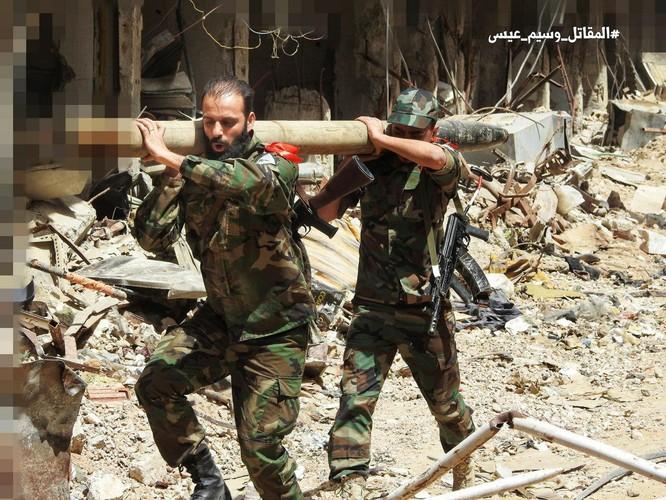 Quân đội Syria giáng đòn chí mạng vào IS tử thủ ven Damascus ảnh 8