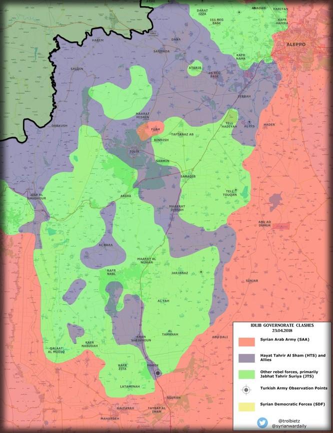 Pháo phản lực Syria trút bão lửa diệt quân thánh chiến phản công tại Hama ảnh 1