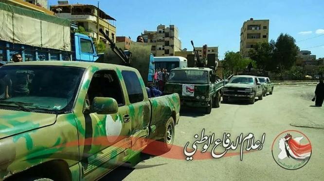 Quân đội Syria tiến đánh dữ dội IS tử thủ nam Damascus ảnh 1