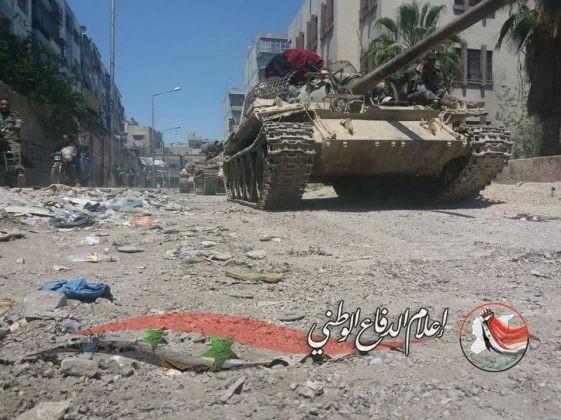 Quân đội Syria tiến đánh dữ dội IS tử thủ nam Damascus ảnh 2
