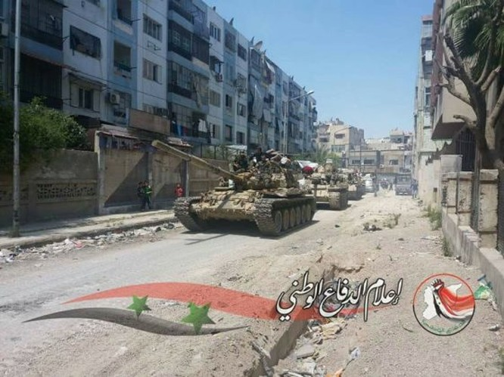 Quân đội Syria tiến đánh dữ dội IS tử thủ nam Damascus ảnh 4
