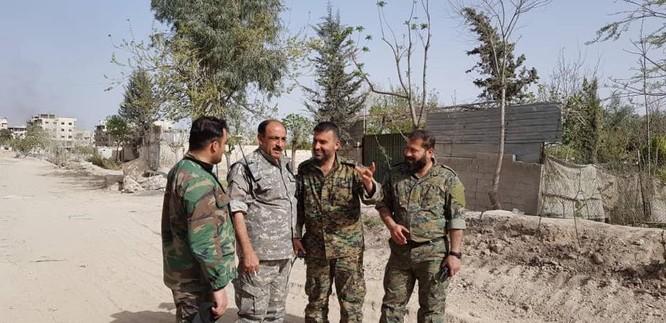 Nga yểm trợ, quân Assad đánh rát IS tại tử địa nam Damasscus ảnh 2